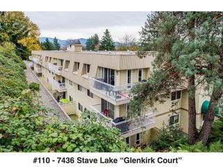Photo 1: 110 7436 STAVE LAKE STREET in Mission: Mission BC Condo for sale : MLS®# R2220331