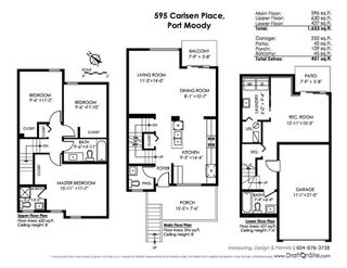 """Photo 20: 595 CARLSEN Place in Port Moody: North Shore Pt Moody Townhouse for sale in """"EAGLE POINTE"""" : MLS®# R2227952"""