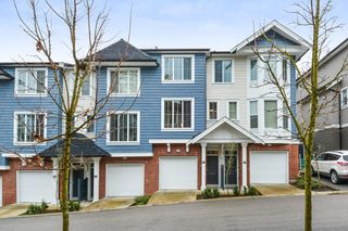"Photo 1: 153 14833 61 Avenue in Surrey: Sullivan Station Townhouse for sale in ""ASHBURY HILL"" : MLS®# R2234693"