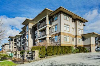 "Photo 1: 409 12238 224 Street in Maple Ridge: East Central Condo for sale in ""URBANO"" : MLS®# R2241722"