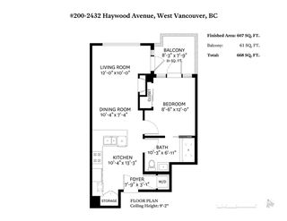 """Photo 20: 200 2432 HAYWOOD Avenue in West Vancouver: Dundarave Condo for sale in """"THE HAYWOOD"""" : MLS®# R2322045"""