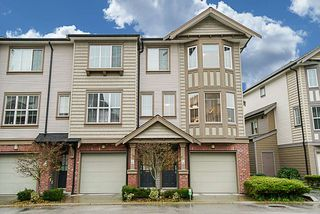 "Photo 1: 28 14838 61 Avenue in Surrey: Sullivan Station Townhouse for sale in ""SEQUOIA"" : MLS®# R2324579"