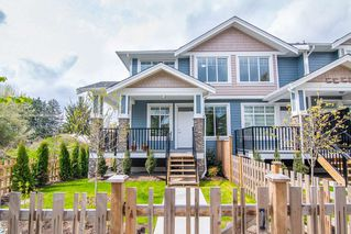 Photo 1: 115 7080 188 Street in Surrey: Clayton Townhouse for sale (Cloverdale)  : MLS®# R2357806