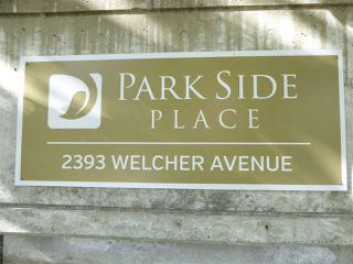 "Photo 2: 306 2393 WELCHER Avenue in Port Coquitlam: Central Pt Coquitlam Condo for sale in ""PARK SIDE PLACE"" : MLS®# R2364013"