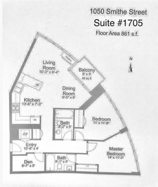 """Photo 20: 1705 1050 SMITHE Street in Vancouver: West End VW Condo for sale in """"The Sterling"""" (Vancouver West)  : MLS®# R2368698"""