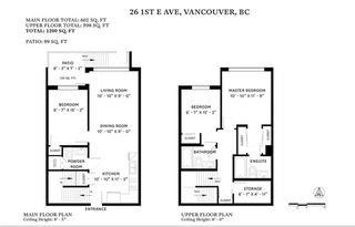 Photo 25: 26 E 1ST AVENUE in Vancouver: Mount Pleasant VE Townhouse for sale (Vancouver East)  : MLS®# R2523111
