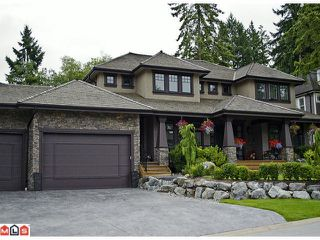 "Photo 1: 2902 146A Street in Surrey: Elgin Chantrell House for sale in ""ELGIN RIDGE"" (South Surrey White Rock)  : MLS®# F1126987"