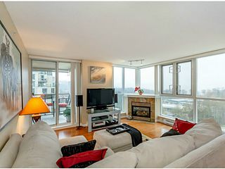 """Photo 1: 1501 235 GUILDFORD Way in Port Moody: North Shore Pt Moody Condo for sale in """"SINCLAIR"""" : MLS®# V1051752"""