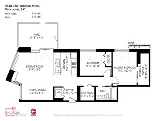 """Photo 20: 318 788 HAMILTON Street in Vancouver: Downtown VW Condo for sale in """"TV TOWER 1"""" (Vancouver West)  : MLS®# R2024487"""
