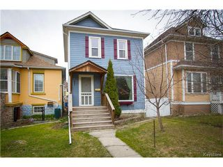 Photo 1: 532 Telfer Street South in Winnipeg: Wolseley Residential for sale (5B)  : MLS®# 1709910