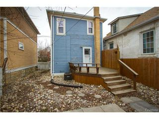 Photo 18: 532 Telfer Street South in Winnipeg: Wolseley Residential for sale (5B)  : MLS®# 1709910