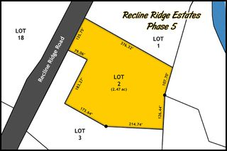 Main Photo: Lot 2 Recline Ridge Road in Tappen: Land Only for sale : MLS®# 10176921