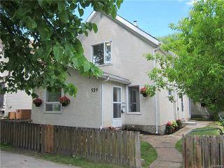 Photo 1: 529 Cherrier Street in Winnipeg: St Boniface Residential for sale (2A)  : MLS®# 1815233