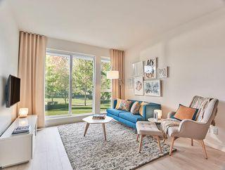 "Photo 1: 107 10603 140 Street in Surrey: Whalley Condo for sale in ""HQ Porte"" (North Surrey)  : MLS®# R2323157"