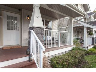 "Photo 2: 47 6568 193B Street in Surrey: Clayton Townhouse for sale in ""Belmont at Southlands"" (Cloverdale)  : MLS®# R2325442"