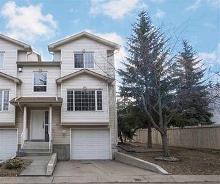 Photo 1: 14 9935 167 Street in Edmonton: Zone 22 Townhouse for sale : MLS®# E4150046