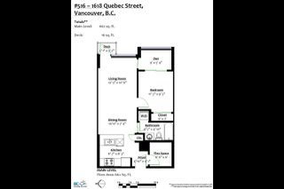 """Photo 18: 516 1618 QUEBEC Street in Vancouver: Mount Pleasant VE Condo for sale in """"Central"""" (Vancouver East)  : MLS®# R2388173"""