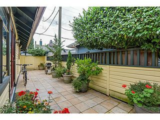 Photo 15: 157 W 15TH Avenue in Vancouver: Mount Pleasant VW Townhouse for sale (Vancouver West)  : MLS®# V1087501