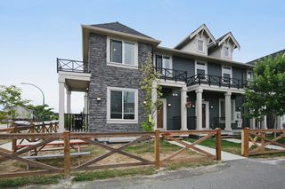 Photo 1: 7255 192ND Street in Surrey: Clayton Townhouse for sale (Cloverdale)  : MLS®# F1446321