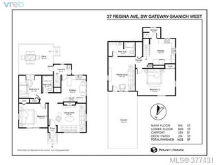 Photo 20: 37 Regina Ave in VICTORIA: SW Gateway Single Family Detached for sale (Saanich West)  : MLS®# 757815