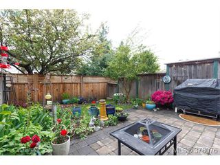 Photo 20: 9 2828 Shelbourne Street in VICTORIA: Vi Oaklands Townhouse for sale (Victoria)  : MLS®# 378076