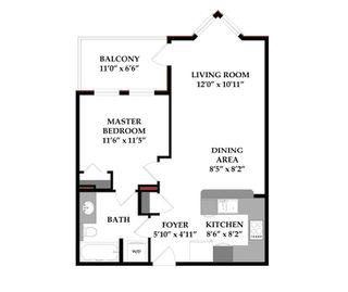 Photo 4: 340 30 Royal Oak Plaza NW in Calgary: Royal Oak Apartment for sale : MLS®# C4188573