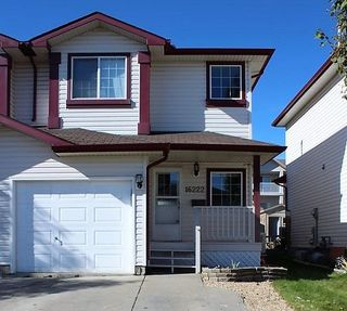 Main Photo: 16222 93 Street in Edmonton: Zone 28 House Half Duplex for sale : MLS®# E4140907