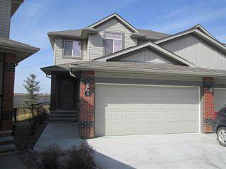Photo 1: 41 1128 156 Street in Edmonton: Zone 14 House Half Duplex for sale : MLS®# E4150860