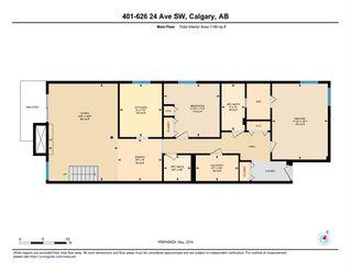 Photo 30: 401 626 24 Avenue SW in Calgary: Cliff Bungalow Apartment for sale : MLS®# C4248389