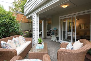 Photo 1: # 103 2110 YORK AV in Vancouver: Kitsilano Condo for sale (Vancouver West)  : MLS®# V1024484