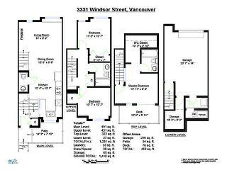"Photo 19: 3331 WINDSOR ST in Vancouver: Fraser VE Townhouse for sale in ""THE NINE"" (Vancouver East)  : MLS®# V1043516"