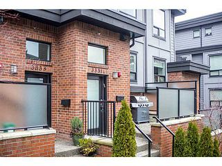 "Photo 15: 3331 WINDSOR ST in Vancouver: Fraser VE Townhouse for sale in ""THE NINE"" (Vancouver East)  : MLS®# V1043516"
