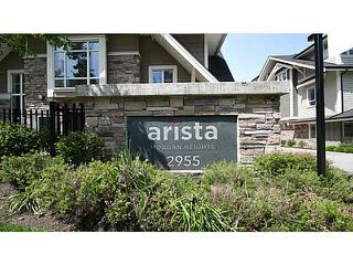 "Photo 1: 19 2955 156TH Street in Surrey: Grandview Surrey Townhouse for sale in ""ARISTA"" (South Surrey White Rock)  : MLS®# F1412786"
