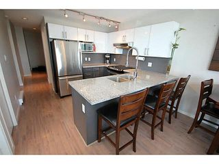 """Photo 5: 1209 14 BEGBIE Street in New Westminster: Quay Condo for sale in """"Inter Urban"""" : MLS®# V1070124"""