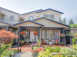 Photo 1: 340 NELSON Street in Coquitlam: Maillardville House 1/2 Duplex for sale : MLS®# V1132962