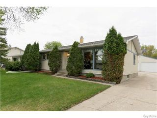 Photo 1: 19 Inch Bay in Winnipeg: Westwood / Crestview Residential for sale (West Winnipeg)  : MLS®# 1612209