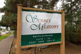 """Photo 20: 5 9320 128 Street in Surrey: Queen Mary Park Surrey Townhouse for sale in """"SURREY MEADOWS"""" : MLS®# R2120073"""