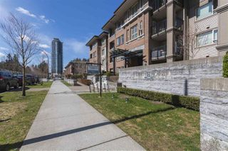 "Photo 2: 302 3105 LINCOLN Avenue in Coquitlam: New Horizons Condo for sale in ""WINDSOR GATE BY POLYGON"" : MLS®# R2154112"