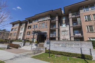 "Photo 1: 302 3105 LINCOLN Avenue in Coquitlam: New Horizons Condo for sale in ""WINDSOR GATE BY POLYGON"" : MLS®# R2154112"