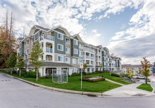 "Photo 1: 314 16388 64 Avenue in Surrey: Cloverdale BC Condo for sale in ""The Ridge at Bose Farms"" (Cloverdale)  : MLS®# R2213779"