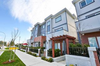 "Photo 1: 39 7247 140 Street in Surrey: East Newton Townhouse for sale in ""Greenwood Townhomes"" : MLS®# R2256026"