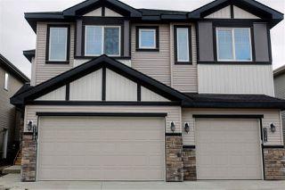 Main Photo: 8540 CUSHING Place in Edmonton: Zone 55 House Half Duplex for sale : MLS®# E4135829