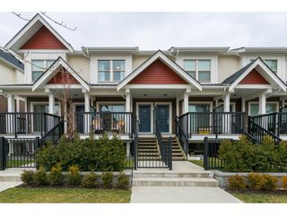 """Photo 1: 13 32633 SIMON Avenue in Abbotsford: Abbotsford West Townhouse for sale in """"Allwood Place"""" : MLS®# R2346945"""