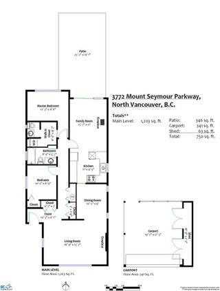 Photo 20: 3772 MT SEYMOUR Parkway in North Vancouver: Indian River House for sale : MLS®# R2347746
