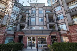 "Main Photo: 115 10455 UNIVERSITY Drive in Surrey: Whalley Condo for sale in ""D'Corize"" (North Surrey)  : MLS®# R2347944"