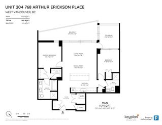 """Photo 20: 204 768 ARTHUR ERICKSON Place in West Vancouver: Park Royal Condo for sale in """"Evelyn"""" : MLS®# R2380818"""