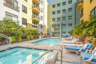 Photo 2: DOWNTOWN Condo for rent : 1 bedrooms : 889 Date Street #438 in San Diego