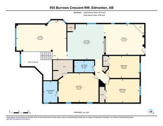 Photo 40: 955 BURROWS Crescent in Edmonton: Zone 14 House for sale : MLS®# E4204309