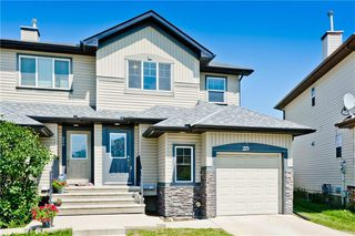 Main Photo: 273 LUXSTONE Way SW: Airdrie Semi Detached for sale : MLS®# C4306179
