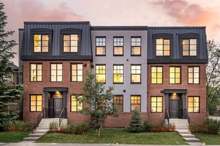 Main Photo: 1707 42 Avenue SW in Calgary: Altadore Row/Townhouse for sale : MLS®# A1012935